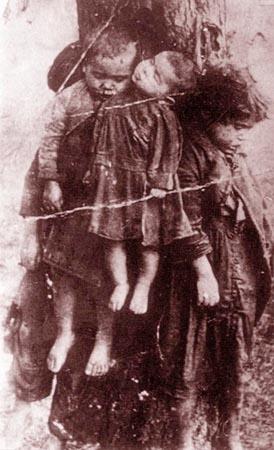 Zamordowane polskie dzieci
