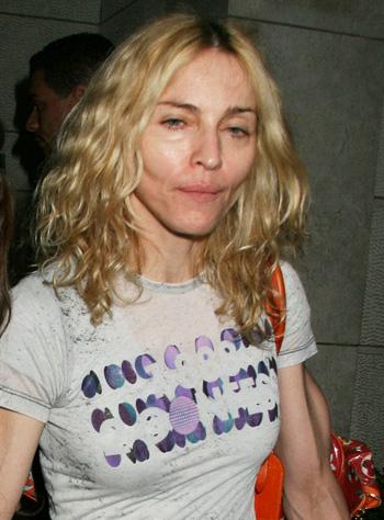Aktualne zdjęcie piosenkarki Madonny. Bez komentarzy.