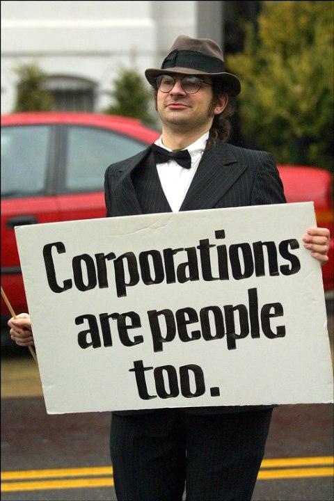 Korporacje też są ludźmi