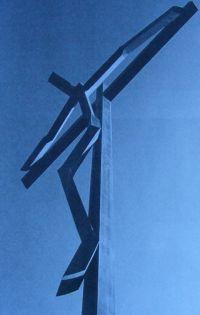 Taki krzyż w Fatimie (!) to też profanacja.
