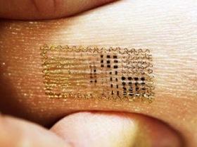 Pierwszy Elektroniczny Tatuaż Drukowany Bezpośrednio Na Skórę
