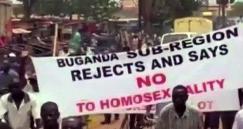 Uganda antyhomo