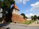 Olkusz - rekonstrukcja murów obronnych i baszty