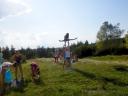 Rabsztyn - obóz młodziutkich gimnastyczek z Belgii