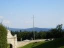 Święty Krzyż - widok na Góry Świętokrzyskie