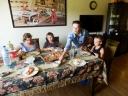 Rodzina Ryszarda Filipskiego oraz wnuczek Maruchy