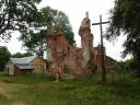 Mielnik - ruiny kościoła p.w. Trójcy Świętej przy Wzgórzu Zamkowym