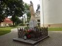 Radzyń Podlaski - figura NMP przy kościele
