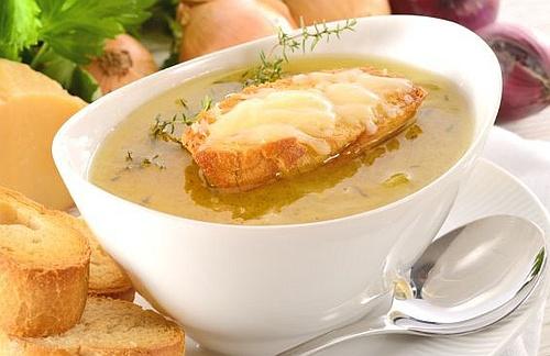 Paris onion soup