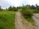 Przełęcz Knurowska -widok w kierunku południowym