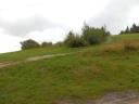 Przełęcz Knurowska - widok na wchód