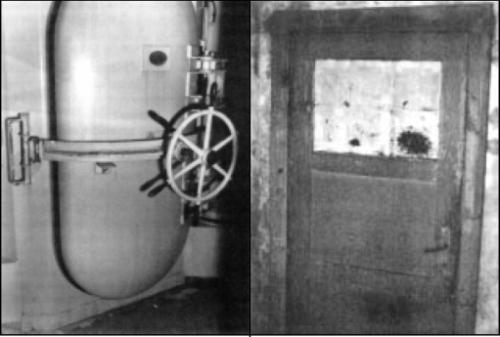 Drzwi komory gazowej - crop