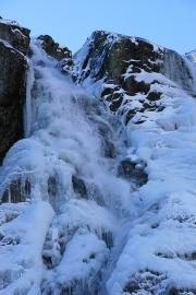 Wodospad zima