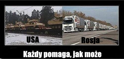 Pomoc USA Rosja