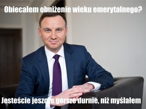 Andrzej Duda - mem