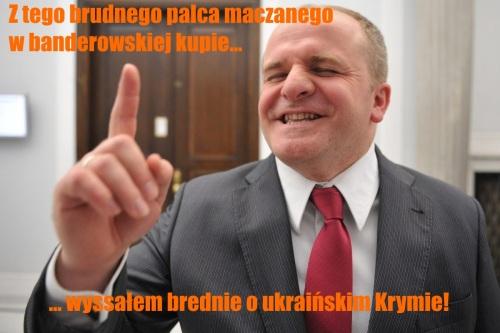Kowal o Krymie mem