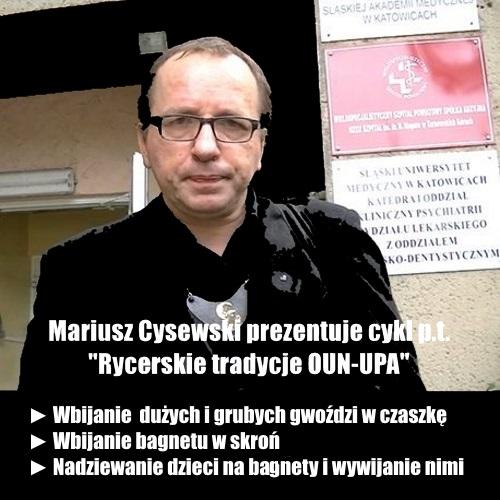 Mariusz Cysewski mem 2