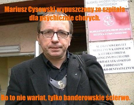 Mariusz Cysewski mem 3