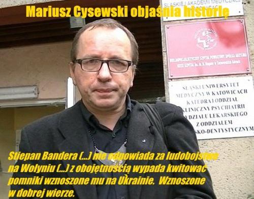 Mariusz Cysewski mem5