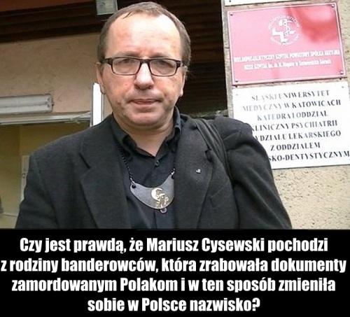 Mariusz Cysewski mem7