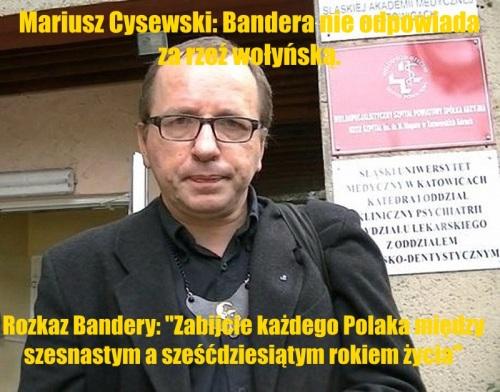 Mariusz Cysewski oszust kłamca hucpiarz