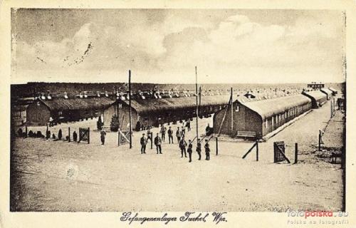 Tuchola - obóz jeniecki