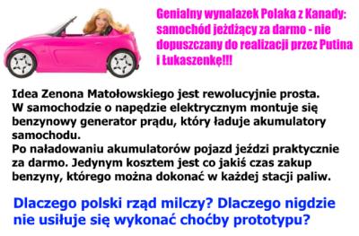 samochod matolowskiego