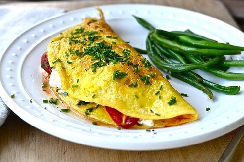 omlet-szparagi